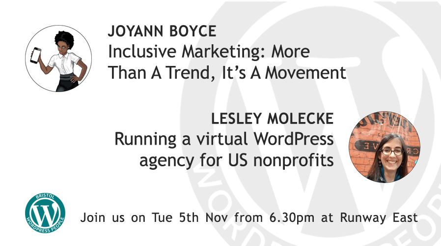 Inclusive Marketing: More Than A Trend & Running a WP agency for US nonprofits